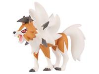 Pokemon: Moncolle EX Lycanroc (Dusk Form) - PVC Figure