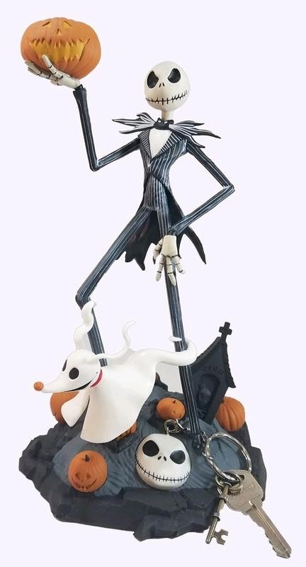 The Nightmare Before Christmas Skeleton Jack Skellington Pvc Action Figure Toy Model Gift Modern Techniques Toys & Hobbies