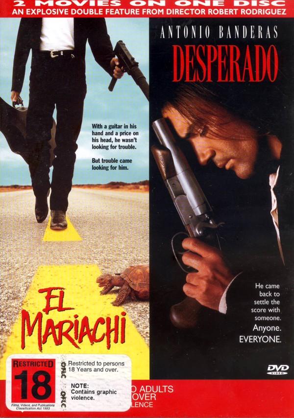 El Mariachi & Desperado (2 DVD Set) on DVD image