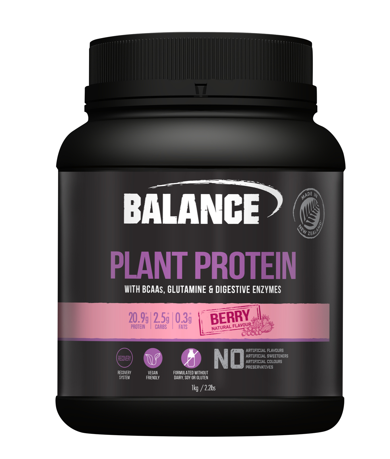 Balance Plant Protein - Berry (1kg) image