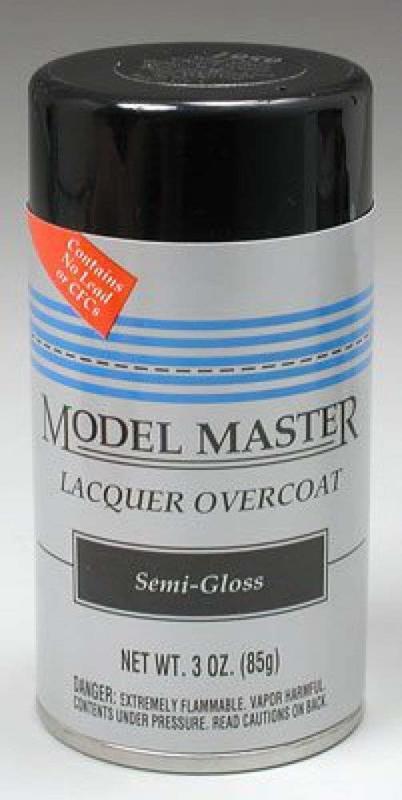 Testors: Lacquer Paint - Semi-Gloss Clear Finish
