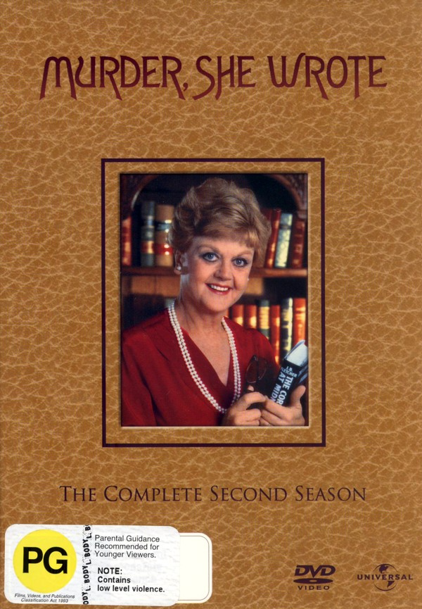 Murder, She Wrote - Complete Season 2 (6 Disc Set) on DVD image