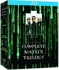 The Matrix Trilogy on Blu-ray
