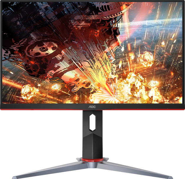 "24"" AOC 1080p 144Hz 1ms FreeSync Gaming Monitor"