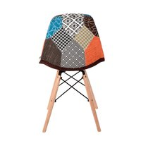La Bella Eames Fabric Dining Chair Set of 2