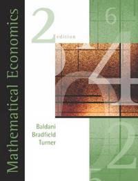 Mathematical Economics by Jeffrey Baldani image