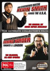 Evening With Kevin Smith Part 1 & 2, An (4 Disc Set) on DVD