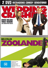 Wedding Crashers / Zoolander (2 Disc Set) on DVD