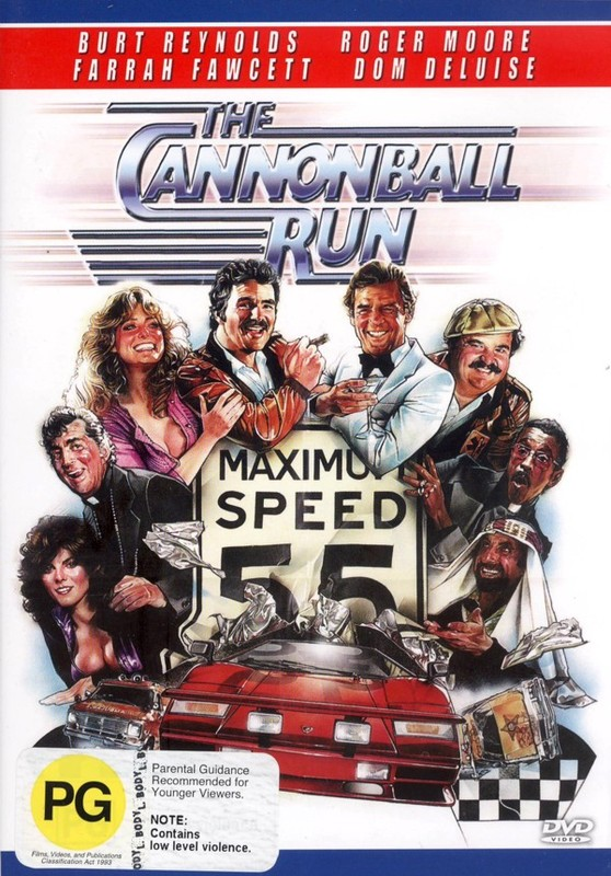 The Cannonball Run on DVD