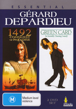 Essential Gerard Depardieu - 1492 / Green Card (2 Disc Set) on DVD