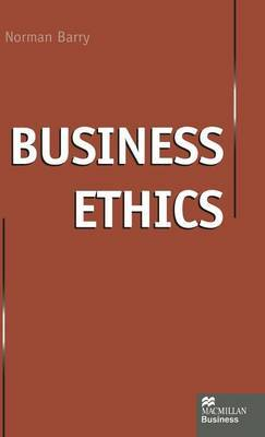 Business Ethics by Norman P Barry image