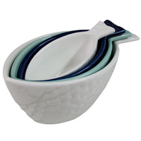 Atlantic Fishy Contemporary Measuring Cups - Set Of 4