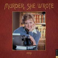 Murder, She Wrote 2019 Wall Calendar by Universal Pictures