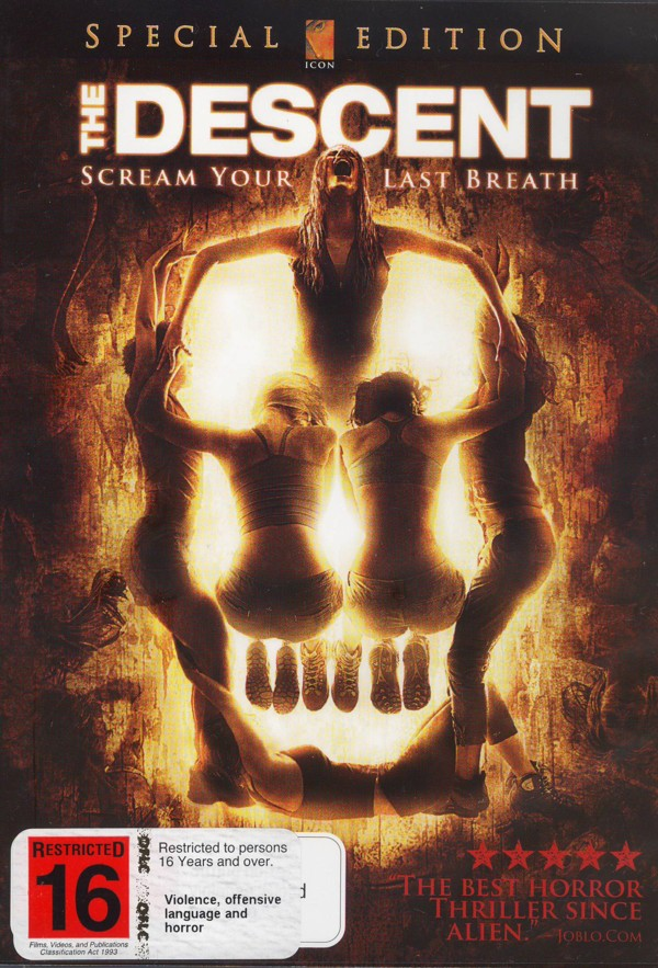 The Descent on DVD image