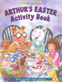 Arthur's Easter Activity Book by Marc Brown image