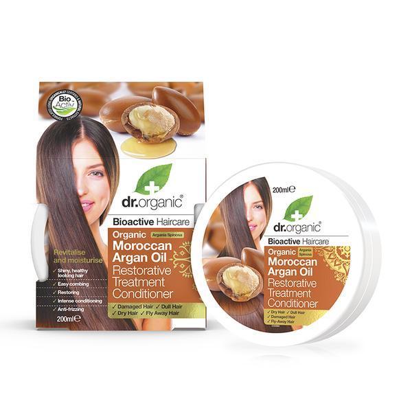 Dr. Organic - Moroccan Argan Oil Restorative Treatment Conditioner (200ml)