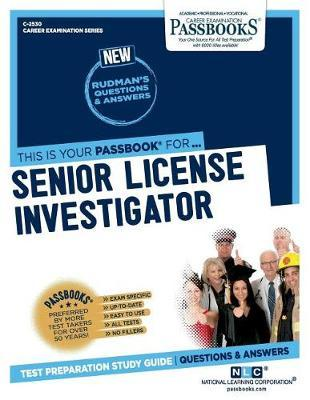 Senior License Investigator by National Learning Corporation