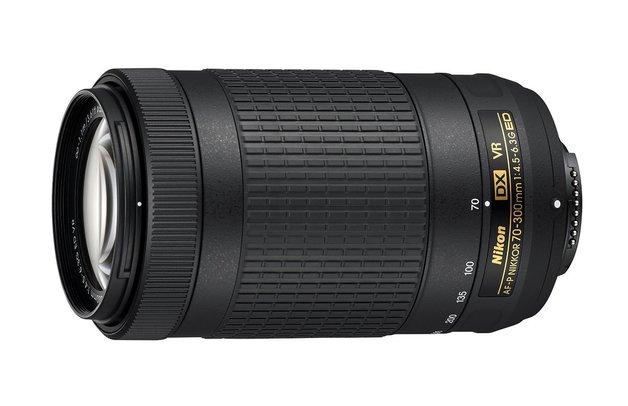 Nikon: AF-P DX NIKKOR 70-300mm (F/4.5-6.3G ED VR) - ED VR Lens for Nikon DSLR Cameras