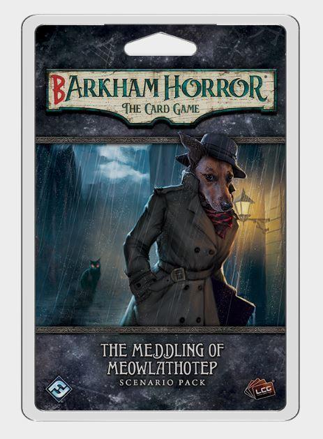 Arkham Horror LCG: Barkham Horror: The Meddling of Meowlathotep - Scenario Pack
