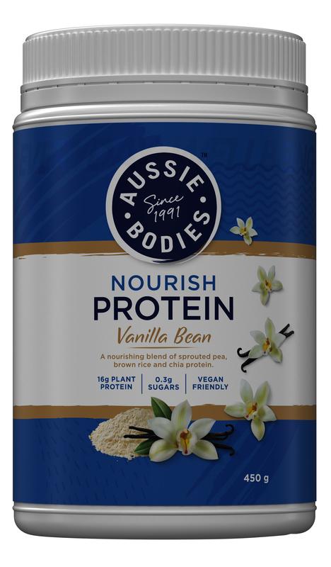 Aussie Bodies: Nourish Protein - Vanilla Bean (450g)