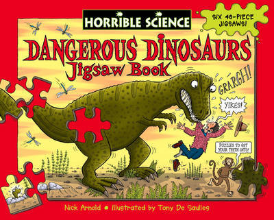 Dangerous Dinosaurs Jigsaw Book by Nick Arnold image
