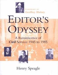 Editor's Odyssey: A Reminiscence of Civil Service, 1945-1985 by Henry Speagle image