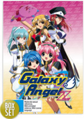 Galaxy Angel Z - Complete Collection (3 Disc Set) on DVD