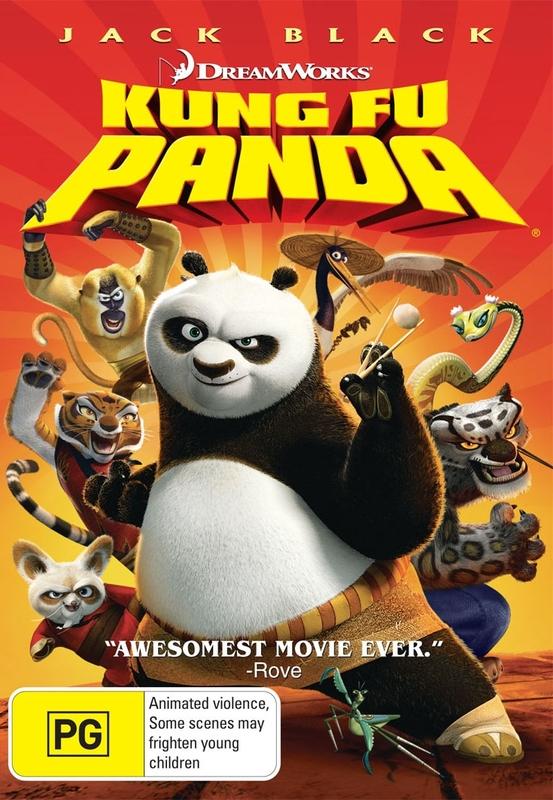 Kung Fu Panda on DVD