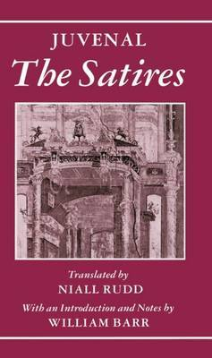 The Satires by Juvenal image
