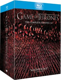Game of Thrones - The Complete First, Second, Third & Fourth Season on Blu-ray