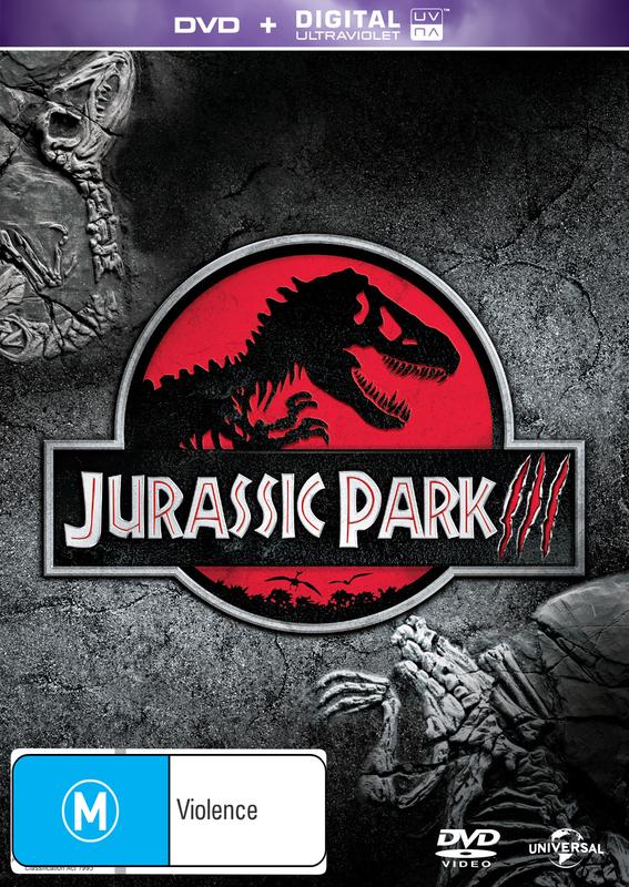 Jurassic Park 3 on DVD