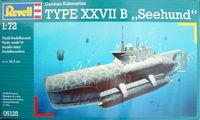 "Revell: 1/72 German Submarine Type XXVII B ""Seehund"" - Model Kit"