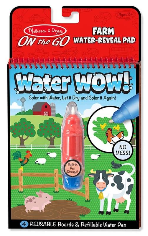 Melissa & Doug: Water Wow Farm - Water Reveal Pad