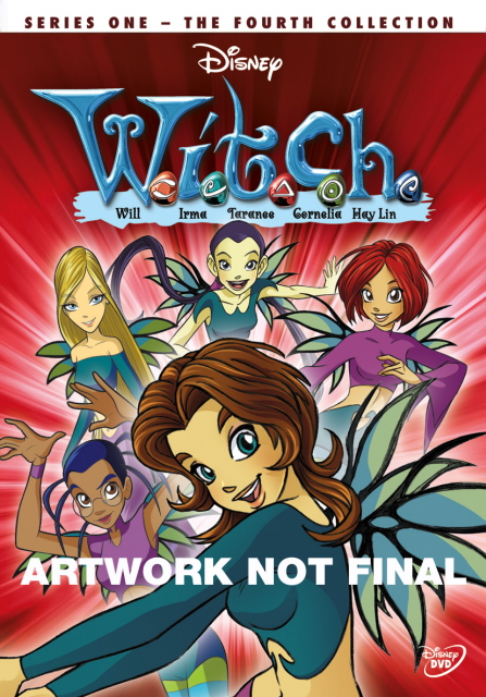 W.I.T.C.H. - Series 1: Vol. 4 on DVD image