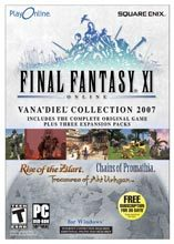 Final Fantasy XI Vana'diel Collection (includes 3 expansion packs) for PC Games