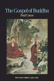 Gospel of Buddha by Paul Carus