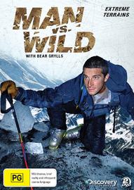 Man vs Wild - Season 1 Collection 1: Extreme Terrains on DVD