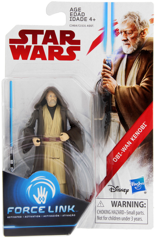 Star Wars: Force Link Figure - Obi-Wan Kenobi