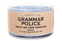 Whiskey River Co: A Candle For the Grammar Police