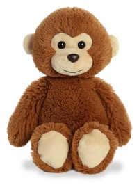 Aurora: Cuddly Friends Plush - Monkey (Large)
