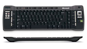 Microsoft Windows XP Media Centre Edition Remote Keyboard image