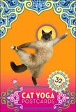 Cat Yoga Postcards (32 Postcards) by Rick Tillotson