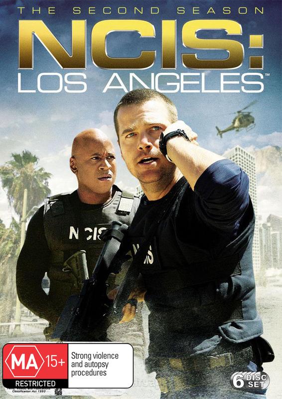 NCIS: Los Angeles - Season 2 on DVD