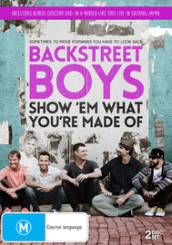 Backstreet Boys - Show 'em What You're Made Of on DVD