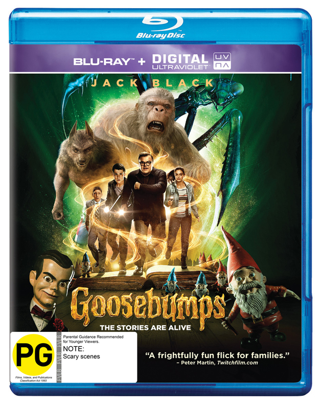 Goosebumps on Blu-ray