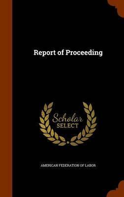 Report of Proceeding image