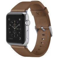 Belkin Classic Leather Wristband for Apple Watch - Brown (42mm)