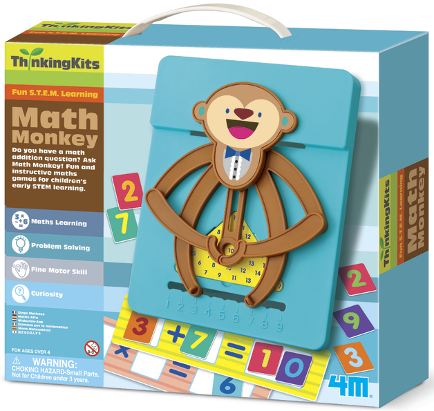 4M: Thinking Kits Math Monkey Kit
