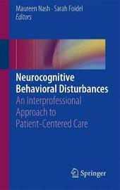 Neurocognitive Behavioral Disorders