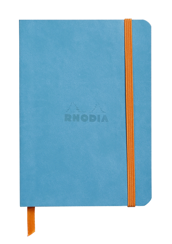 Rhodiarama A6 Softcover Notebook Dot Grid - Turquoise